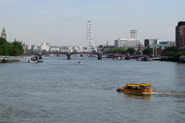 River Thames Panorama - 2010
