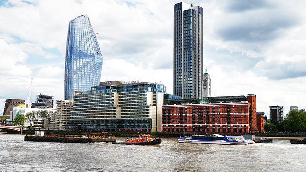 Panorama Across the Thames