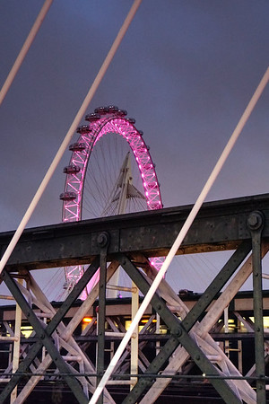 Golden Jubilee Bridge - London Eye