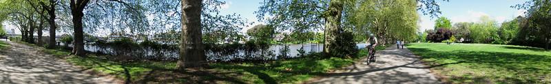 Canbury Gardens Panorama