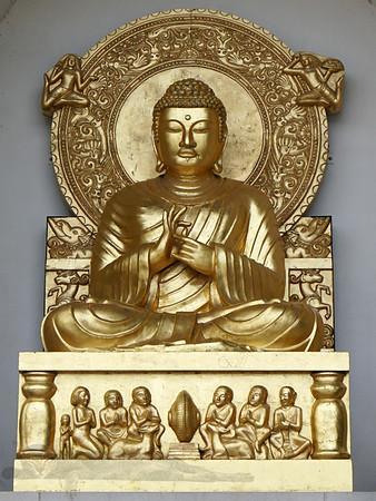 Buddha on Battersea Park Pagoda