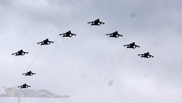RAF100 Celebration Flypast - London 2018