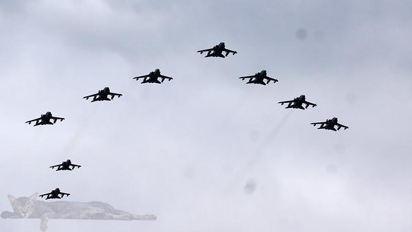 RAF100 Celebration Flypast - London 2018
