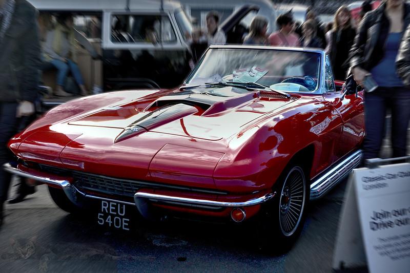 Red Chevrolet Corvette Stingray