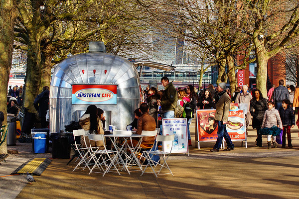 Southbank - Airstream Cafe
