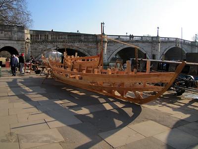 Richmond Bridge Boathouses - Boat In Build
