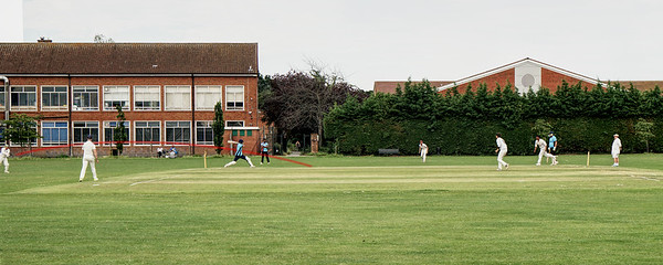 Cricket in John Innes Rec