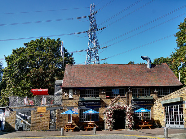 The William Morris Morris Public House in Abbey Mills, Collier's Wood, Merton - 2019