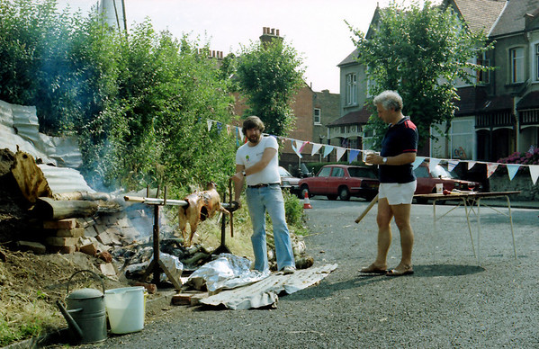 Watery Lane Street Party 1981