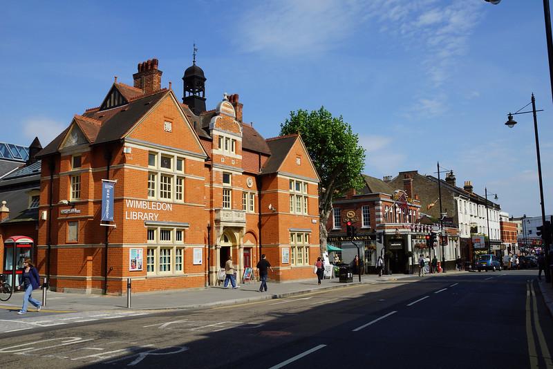Wimbledon Library & Alexandra Pub - 2012