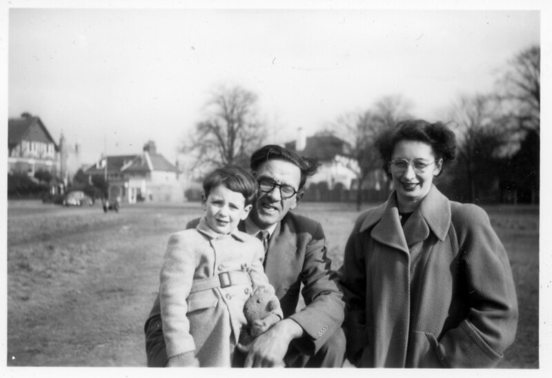 Family Snap on Wimbledon Common - circa 1955