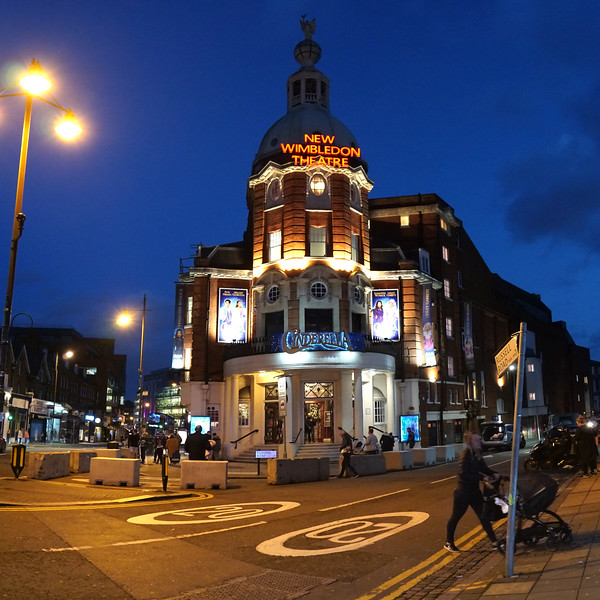 New Wimbledon Theatre at Night - 2019