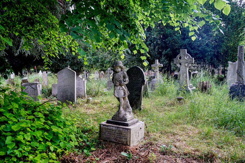 Tombstones in St Mary's Graveyard