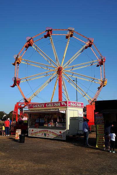 Ferris Wheel (Big Wheel) at Wimbledon Funfair
