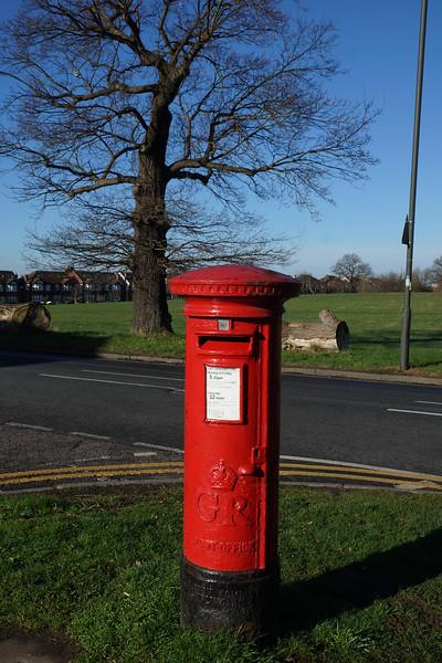 Pillar Box - GR - Cannon Hill Lane