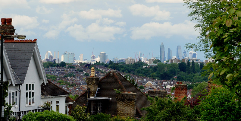 View of London From Arthur Road - Wimbledon