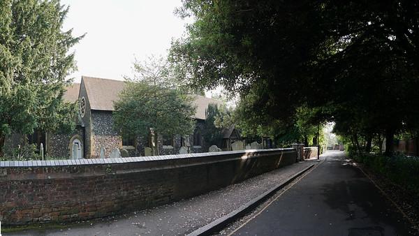 St Mary's Church - Church Path - Merton Park