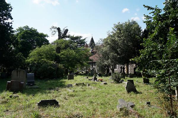 St Mary's Church - Churchyard - Merton Park