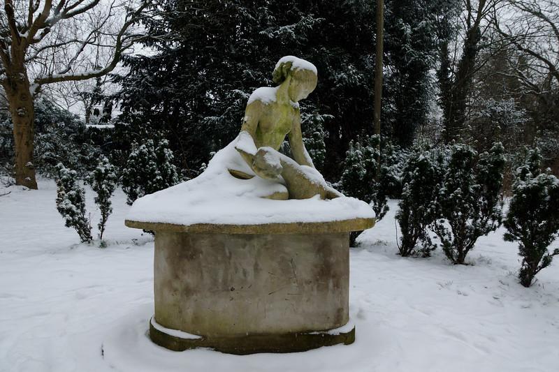 Diana with a Fawn - Cannizaro Park