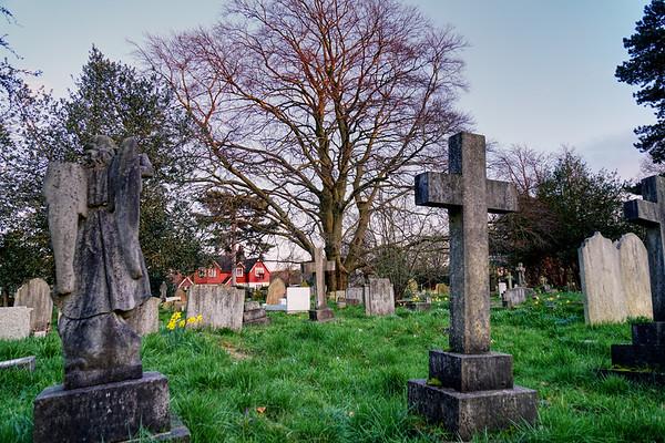 St Mary's Churchyard - Merton Park
