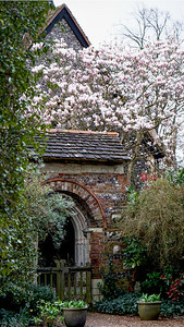 Arch to St Mary's Churchyard - Merton Park