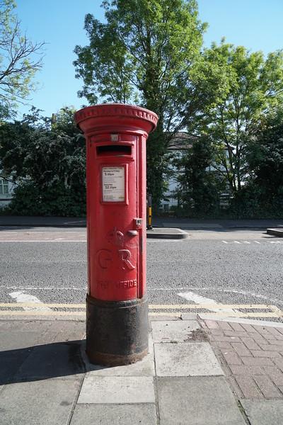 Pillar Box - GR - Martin Way - Springfield Av