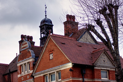 Wimbledon Library - Roof - 2020