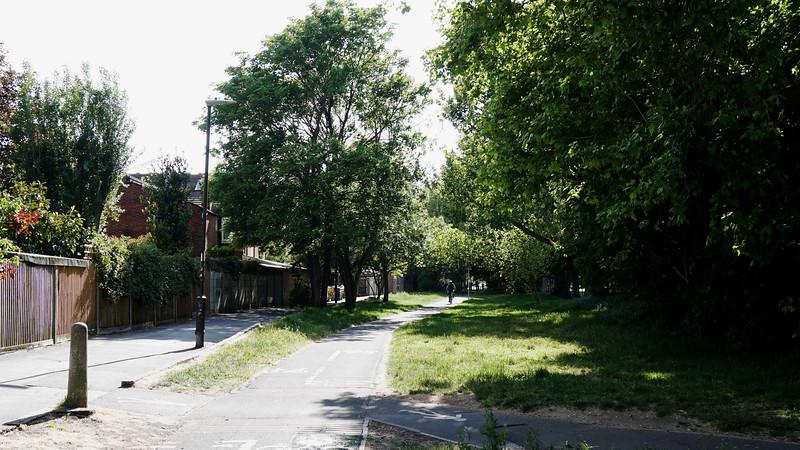 Merton Hall Road - Footpath
