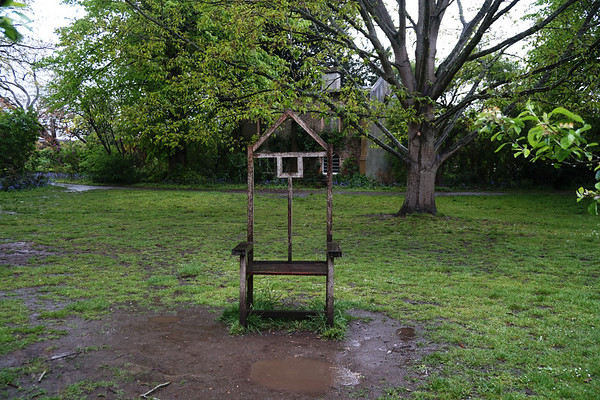 Cannizaro Park - Chair Sculpture