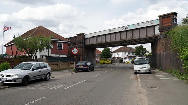 Railway Bridge over Cannon Hill Lane