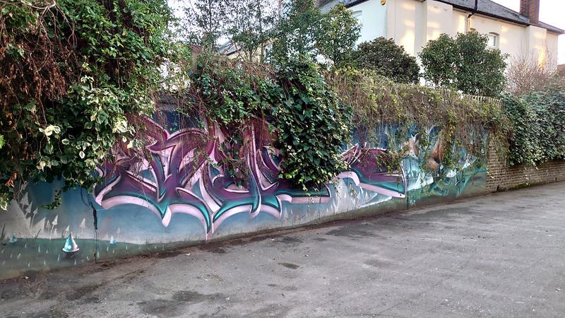 Blakesley Walk - Street Art
