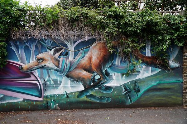 Street Art in Blakesley Walk
