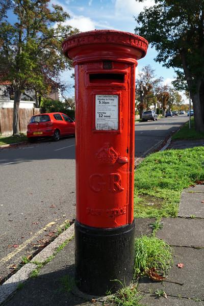 Pillar Box - GR - Kenley Road - Mostyn Road