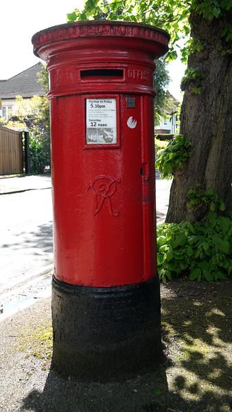 Pillar Box - VR - Sheridan Road - Dorset Road
