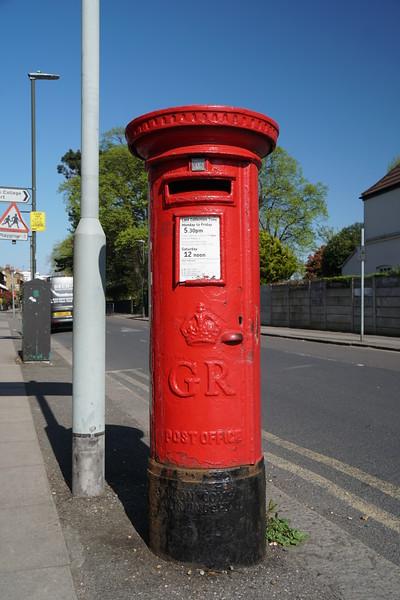 Pillar Box - GR - Dundonald Road - Wimbledon