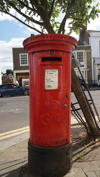 Pillar Box - GR - Wimbledon High Street