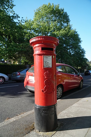 Darlaston Road - Pillar Box - ERVII