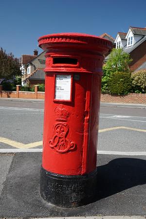 Pillar Box - EVIIR - Edward VII