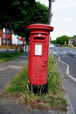 Pillar Box - GRVI - Hillcross Avenue