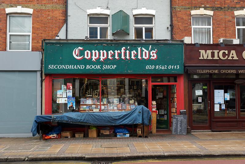 Copperfield's Bookshop, Wimbledon 2012