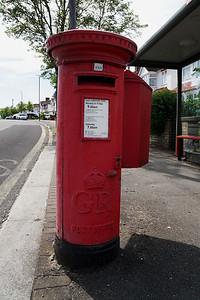 Pillar box - Hillcross Avenue