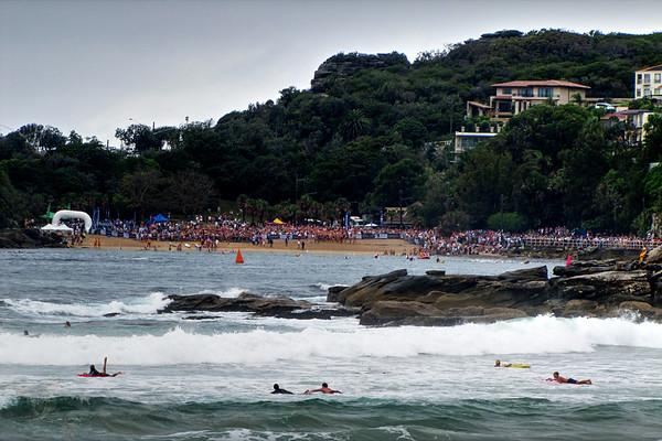 Shelly Beach - Swimming
