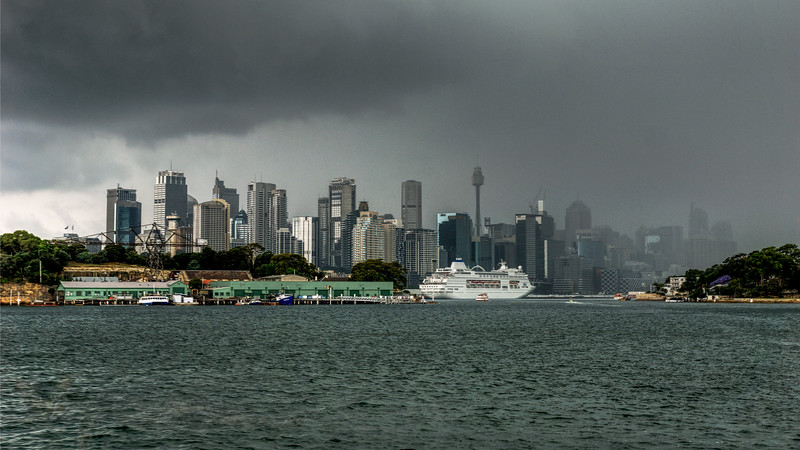 Cruise Ship in Sydney Habour