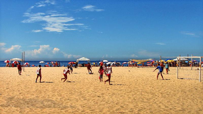 Copacabana Beach - Soccer