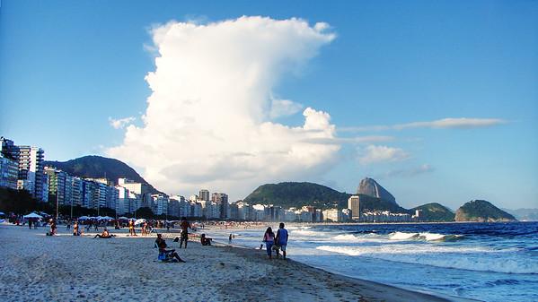 Copacabana Beach - Rio de Janeiro - Brazil
