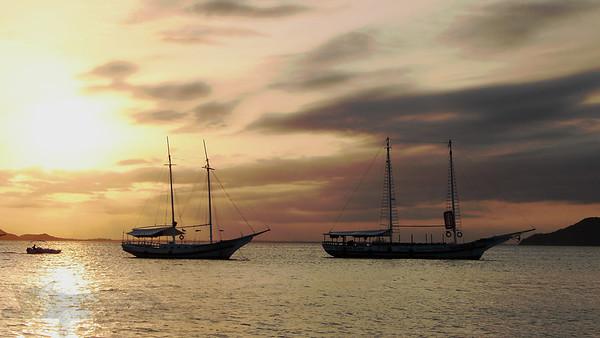 Yachts in Buzios - Brazil