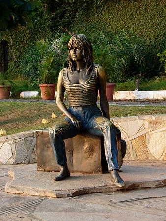Statue of Brigitte Bardot