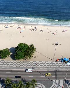 Copacabana Beach - Aerial View