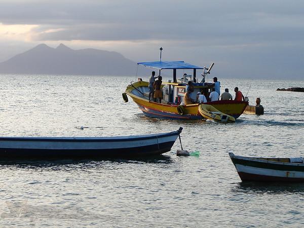 Boat in Buzios - Brazil