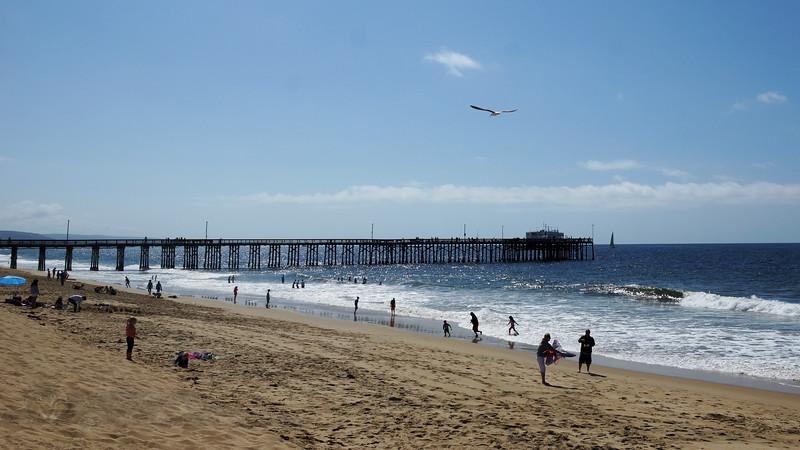 Balboa Peninsula Beach and Pier, California
